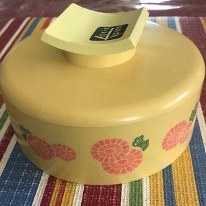 Vtg Avon Hana Gasa Beauty Dust Container Only